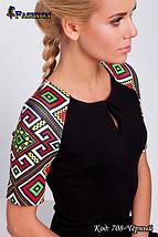 Модное женское чёрное платье Весеннее настроение, фото 2