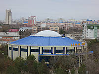Надувная крыша дельфинария