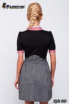 Женское платье с вышивкой Ностальгия, фото 3