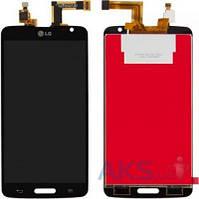 Дисплей (экран) для телефона LG G Pro Lite D680, G Pro Lite D682 + Touchscreen Black