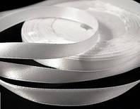 Лента атласная ультра белая 15 мм