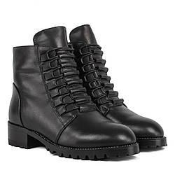 Ботинки женские My Classic (кожаные, удобные, стильные, на шнурках)