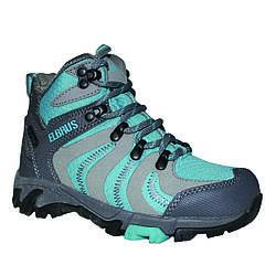 Ботинки Elbrus Loren Mid WP JR 33 р Синий (LorenBE)