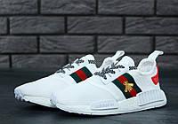 Кроссовки женские Adidas NMD x Gucci, адидас НМД, реплика