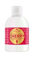 Шампунь- кондиционер Kallos  для волос с маслом вишневых косточек 1000 мл.