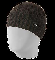 Шапка мужская вязаная Oxygon Orientale черный/коричневый