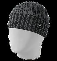 Шапка мужская вязаная Orientale ORI-021 светло-серый-черный, Oxygon Россия