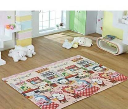 ALZIPmat - Игровой коврик PANDA DOG Размер 185х140