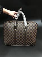 067afb12a1ff Сумка мужская бизнес через плечо для ноутбука документов брендовая Louis  Vuitton копия высокого качества