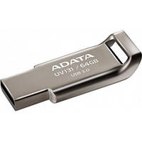 Флеш пам'ять 64GB USB3.0 ADATA DashDrive UV131 Chromium Gray AUV131-64G-RGY (AUV131-64G-RGY)