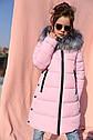 Пальто детское зимнее Вики ТМ Нуи Вери - Размеры 116 - 158, фото 6