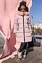 Пальто детское зимнее Вики ТМ Нуи Вери - Размеры 116 - 158, фото 7