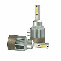Светодиодные LED лампы головного света H15 72 Watt 7600LM 6000К Cree COB DRL Canbus