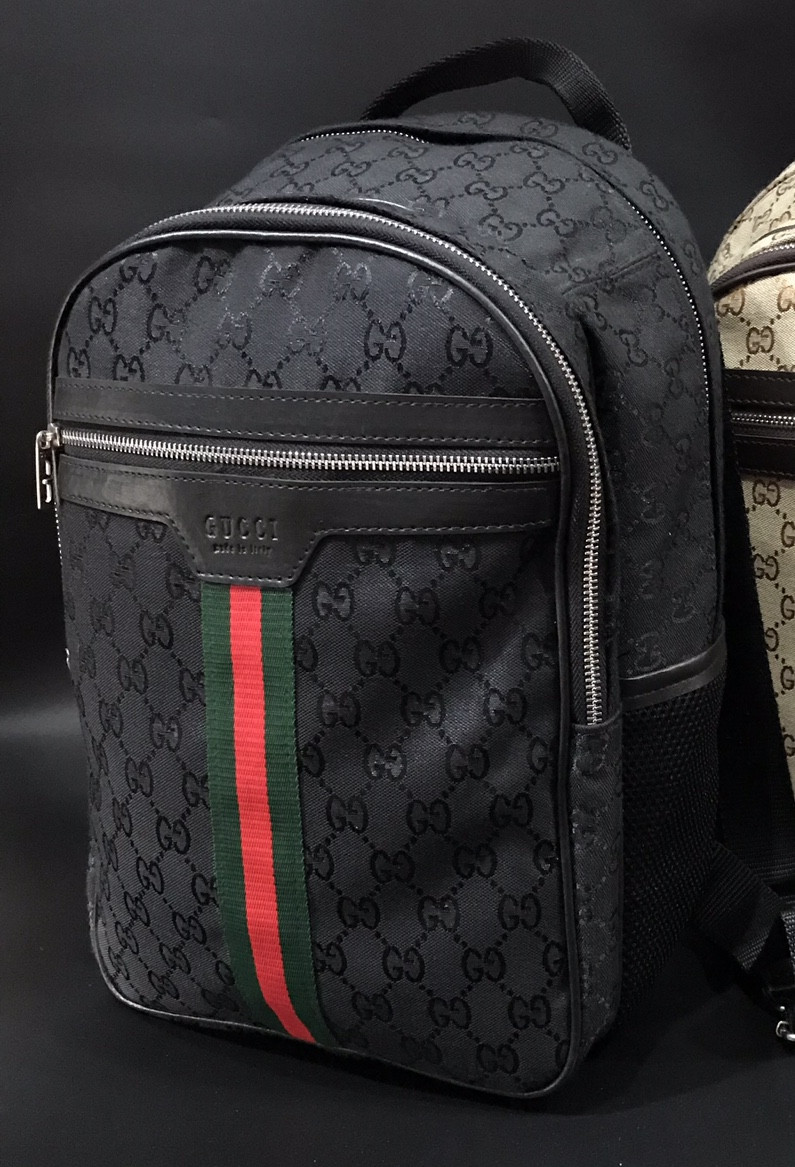 f3c8e5e89d2a Рюкзак ранец портфель мужской черный женский GUCCI копия реплика - Bigl.ua