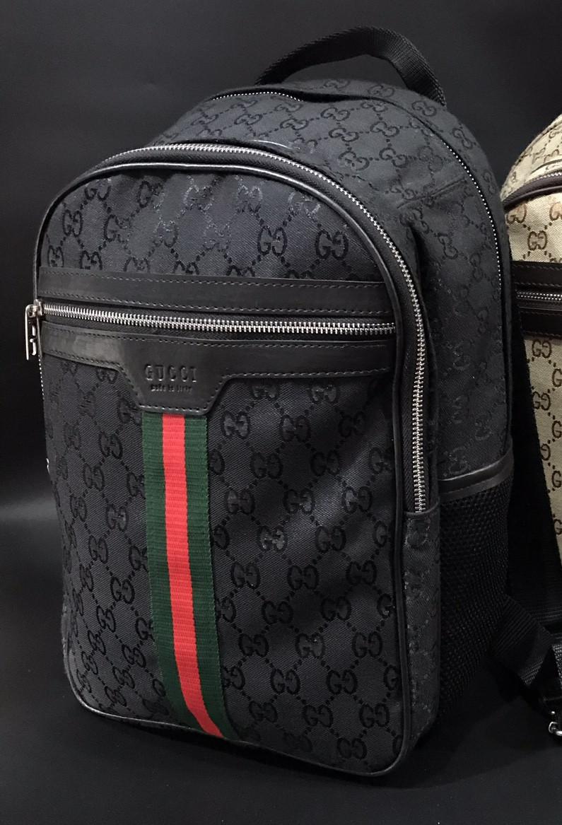 92b95c09262c Рюкзак ранец портфель мужской черный женский GUCCI копия реплика - AMARKET  - Интернет-магазин брендовых