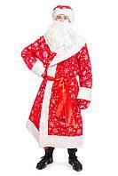Дедушка Мороз «Красный» карнавальный костюм для аниматоров, фото 1