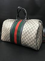94770fa6db23 Сумка дорожная ручная кладь саквояж спорт для путешествий Gucci копия  реплика