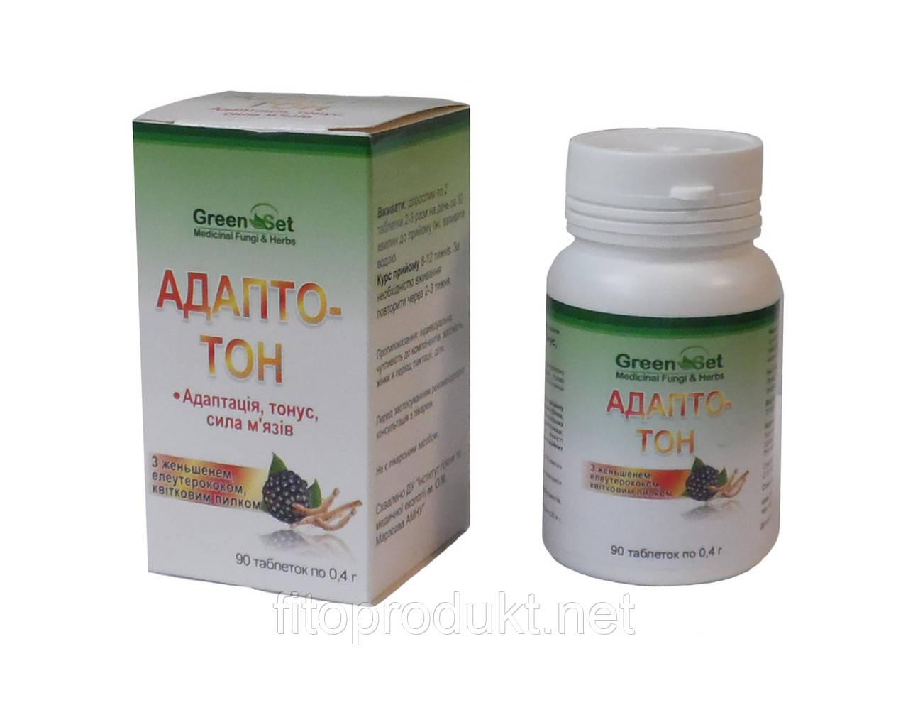 Адапто Тон повысить тонус и иммунитет 90 таблеток Гринсет