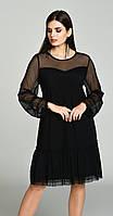 Платье Svetlana Style-1050 белорусский трикотаж, черный, 46, фото 1