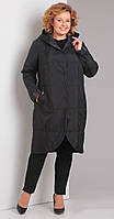 Куртка Диамант-1328/4 белорусский трикотаж, темно-серый, 50