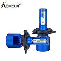 Комплект LED лампы H4 Acoosun - головного света ― ближний/дальний свет
