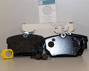 Гальмівні колодки задні на Opel Vivaro 2001-> — Opel (Оригінал) - 95599224