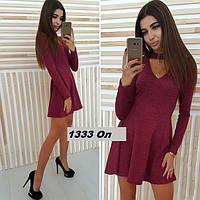 Платье ангоровое весна - осень 1333 Ол