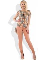 Женский летний брючный костюм КТ-296
