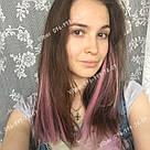 УЦЕНКА!! Нежно розовые пряди волос на заколках, фото 7