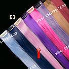 УЦЕНКА!! Нежно розовые пряди волос на заколках, фото 5