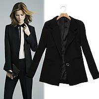Черный женский пиджак,