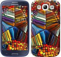 """Чехол на Samsung Galaxy S3 Duos I9300i Разноцветный витраж """"3343c-50-328"""""""