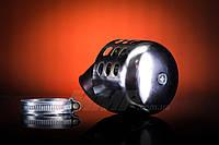 Фильтр нулевого сопротивления Ø35mm  (закрытый, хром , 45°)