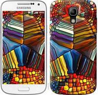 """Чехол на Samsung Galaxy S4 mini Разноцветный витраж """"3343c-32-328"""""""