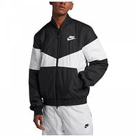 3d3ca6b7 Куртка мужская Nike Sportswear Synthetic Fill AJ1020-010 L Черный с белым  (887232863067)