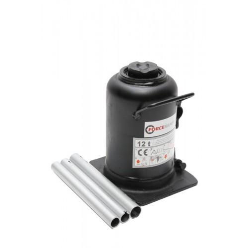 Домкрат бутылочный двухштоковый 12т (h min 240мм, h max 590мм)