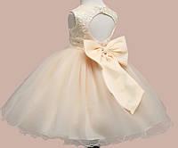 Платье детское нарядное пишное праздничное  на 130, 136  см рост сукня дитяча святкова на свято