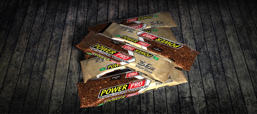 Батончик протеиновый Power Pro мокачино 36% (60 г)