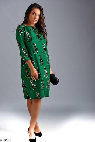 Платье женское стильное и необычное большие размеры 50-62, фото 2