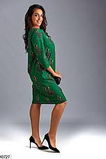 Платье женское стильное и необычное большие размеры 50-62, фото 3