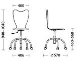 Детское кресло Princess, Детское компьютерное кресло Чернигов, фото 2