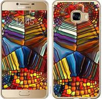 """Чехол на Samsung Galaxy C5 C5000 Разноцветный витраж """"3343c-301-328"""""""
