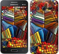 """Чехол на Samsung Galaxy Core 2 G355 Разноцветный витраж """"3343c-75-328"""""""