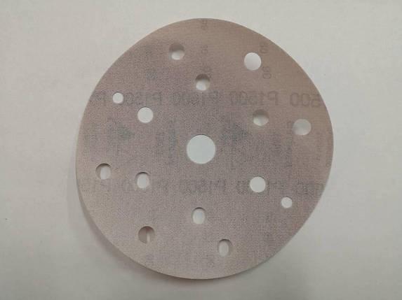 Абразивный круг - SIA 1950 8+6+1 отверстие P1200 150 мм. (Рі 1200), фото 2