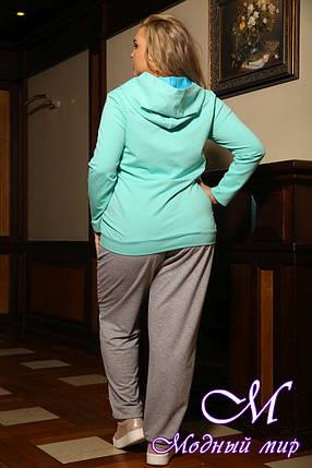 Спортивный костюм батальных размеров женский (р. 48-90) арт. Турция, фото 2