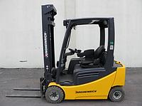 Электропогрузчик Б/У Jungheinrich EFG 320, 2000 кг, подъем 5500 мм