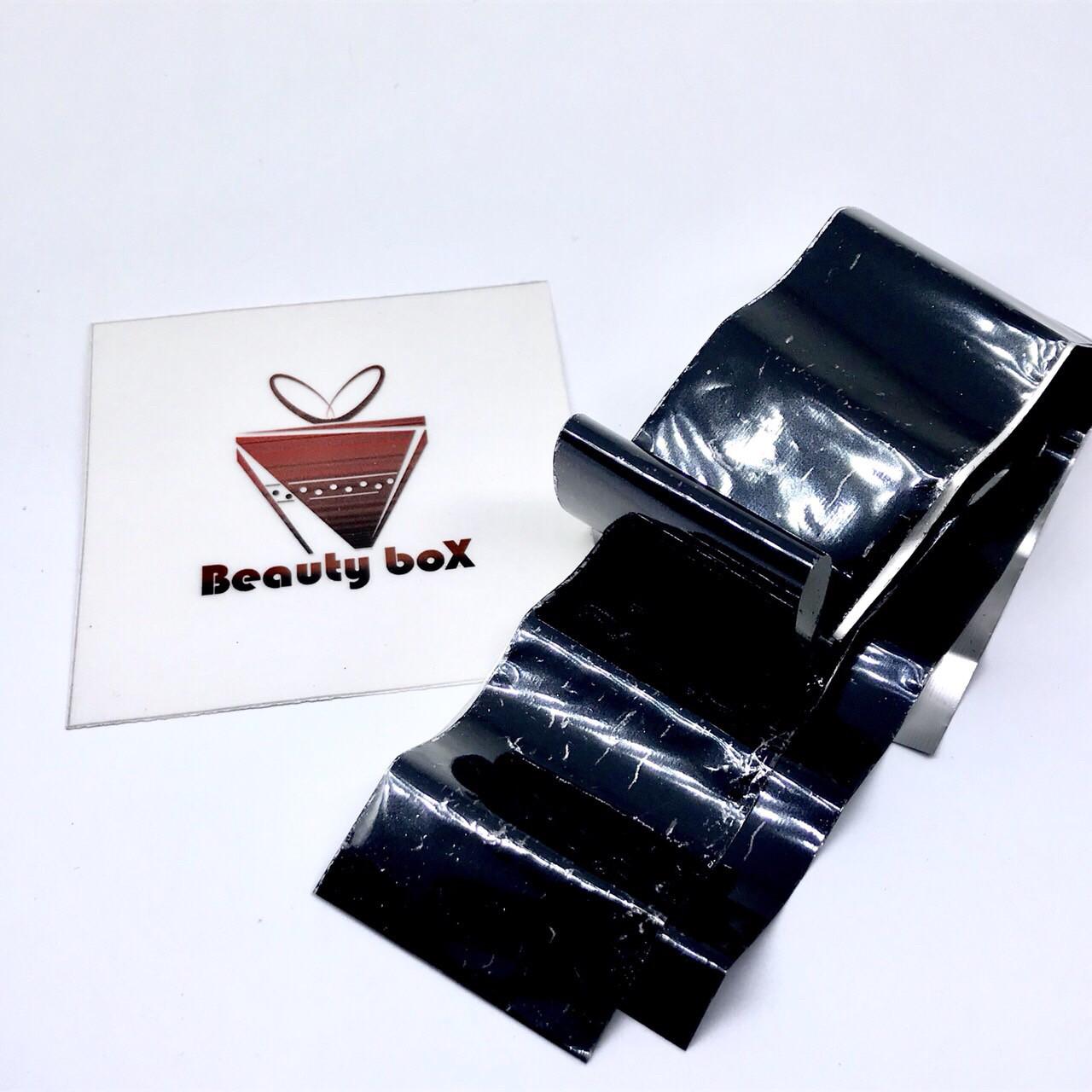 Фольга переводная (черная) 4 см