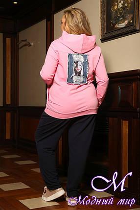 Батальный спортивный костюм женский (р. 48-90) арт. Турция, фото 2