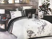 Сатиновое постельное белье с вышивкой 1