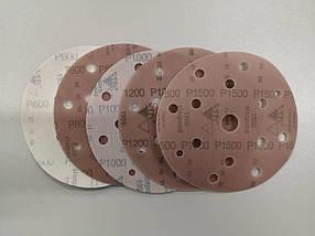 Абразивний круг - SIA 1950 8+6+1 отвір P1500 150 мм. (Рі 1500), фото 2